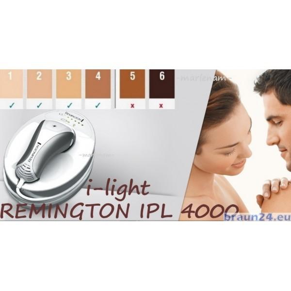 Depilator Laserowy Remington IPL4000 i-Light - BRAUN24.EU
